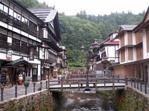 13-201 自然ゆったりくつろぎの里 銀山温泉と 日本三大急流 最上川舟下り